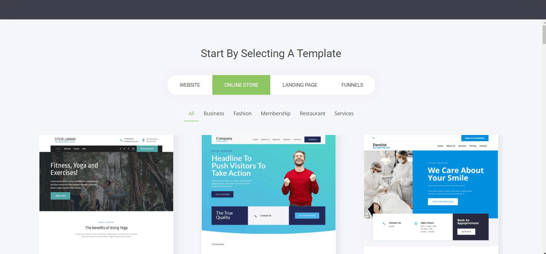 Webssly: Online Store design topics